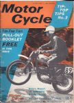 MOTOR CYCLE - MOTORCYCLE MAGAZINE - 27TH MAY 1965 - M1260